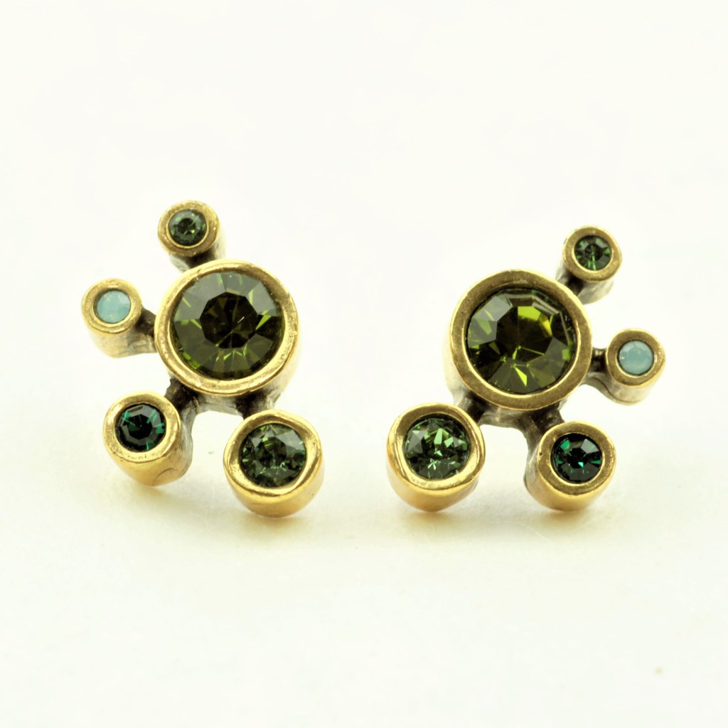 InvHere Comes the Sun Post Earrings in Gold, Inverness-PatriciaLockeJewelryEarrings-cocoandduckie.com