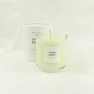 lehau honey candle - makana candles - cocoandduckie.com