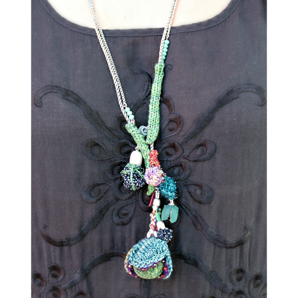 Fall Flowers Necklace