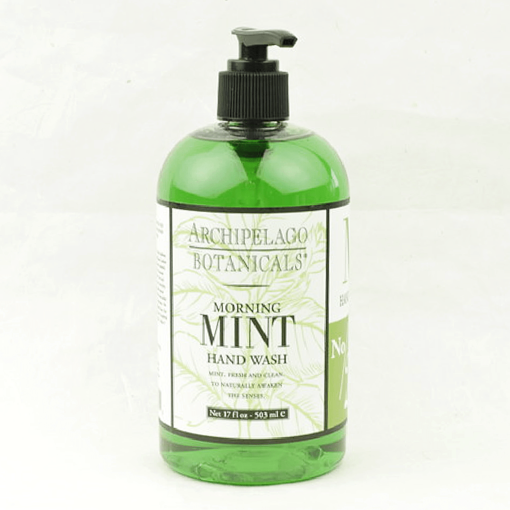 Morning Mint Hand Wash - Archipelago Botanicals - Coco and Duckie