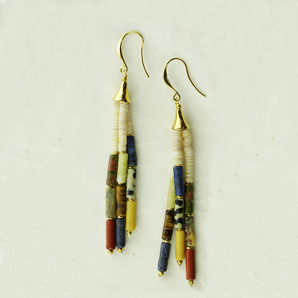 Franck Herval Pipeline Earrings