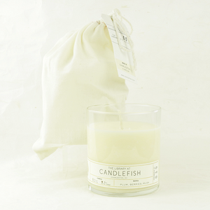candlefish no. 39 glass candle - coco and duckie