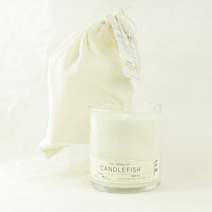 Candlefish no. 40 glass candle - coco and duckie