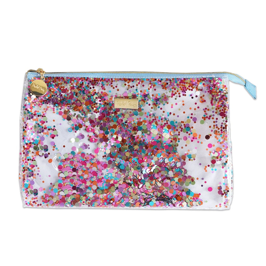 Confetti Cosmetic Bag - Packed Party - Coco and Duckie