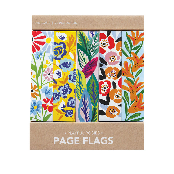 Playful Posies Page Flags - Girl of All Work - Coco and Duckie