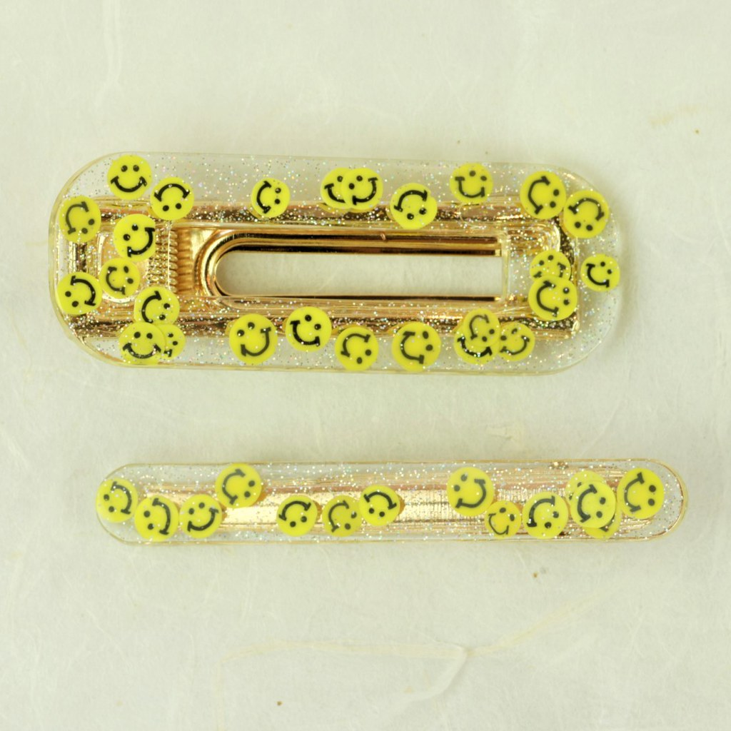 Smiley Faces Coco Clip Set - Coco's Musings - Coco and Duckie