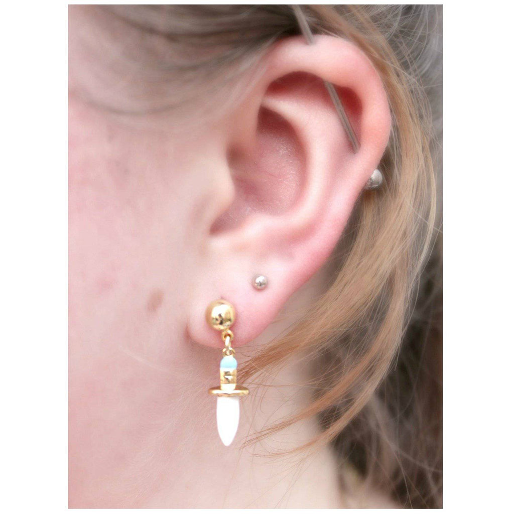 Pan's Dagger Earring - N2 - Coco and Duckie