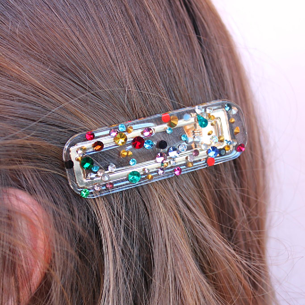 Vintage Rhinestone Coco Clips - Coco's Musings - Coco and Duckie