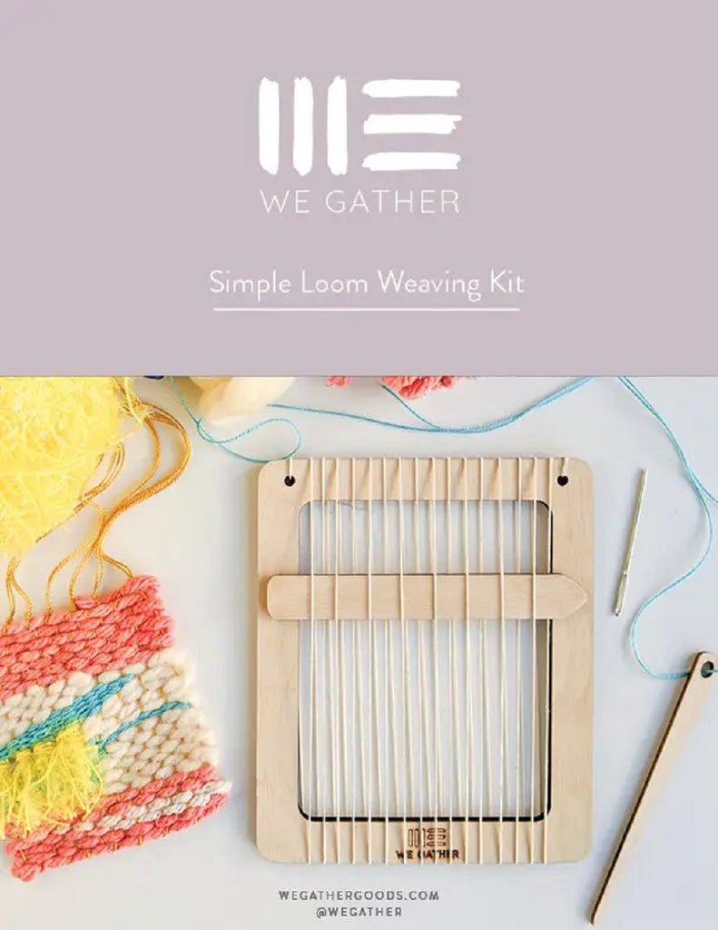 Simple Loom Weaving Kit - We Gather - Coco and Duckie