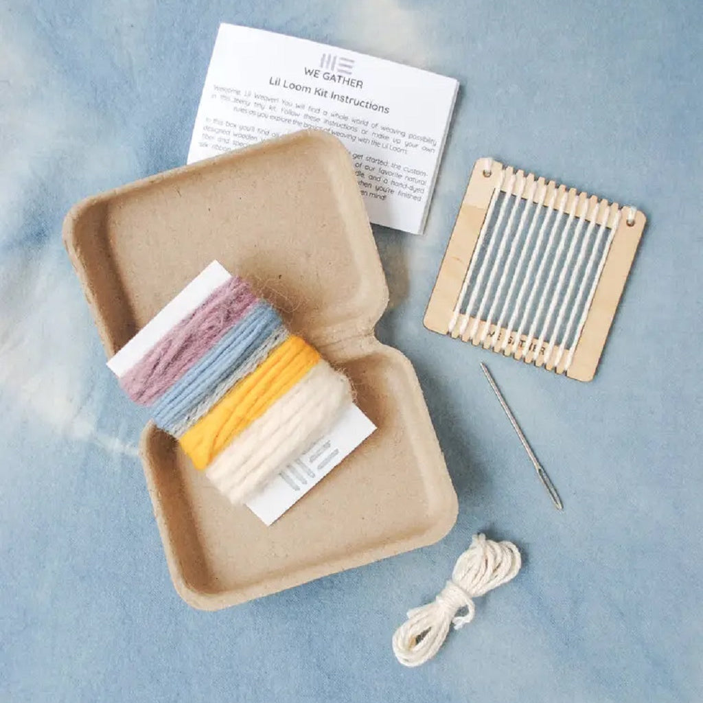 Lil Loom Weaving Kit - We Gather - Coco and Duckie