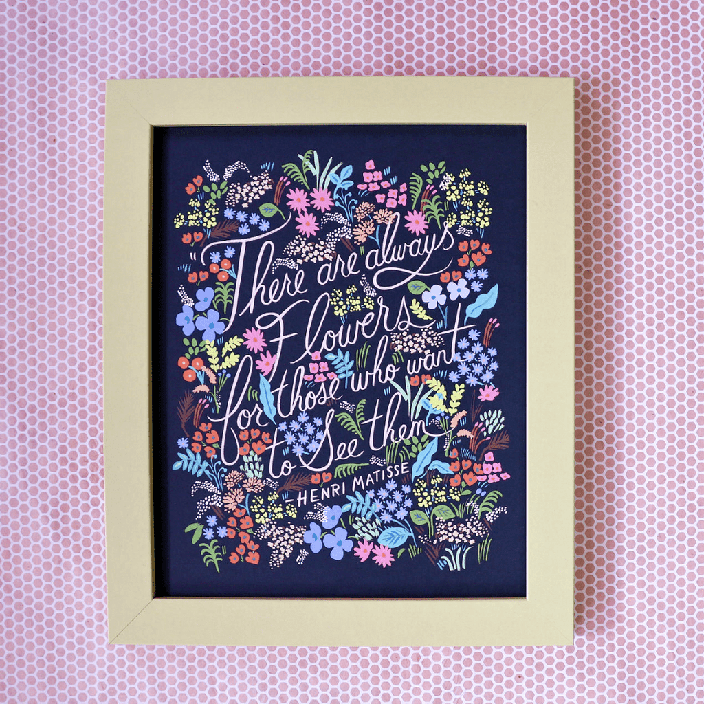 Matisse Quote Art Print - Rifle Paper Co. - Coco and Duckie