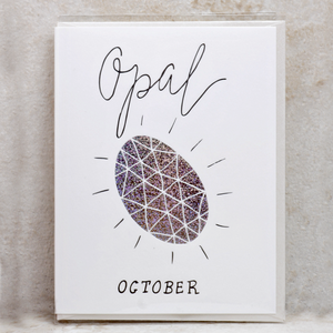 Birthday Month Gemstone Cards