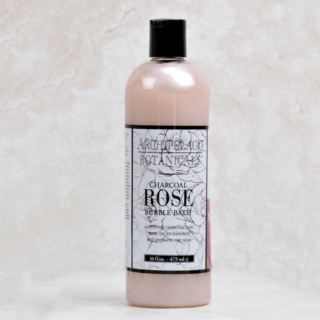Charcoal Rose | Archipelago Bubble Bath - Coco and Duckie