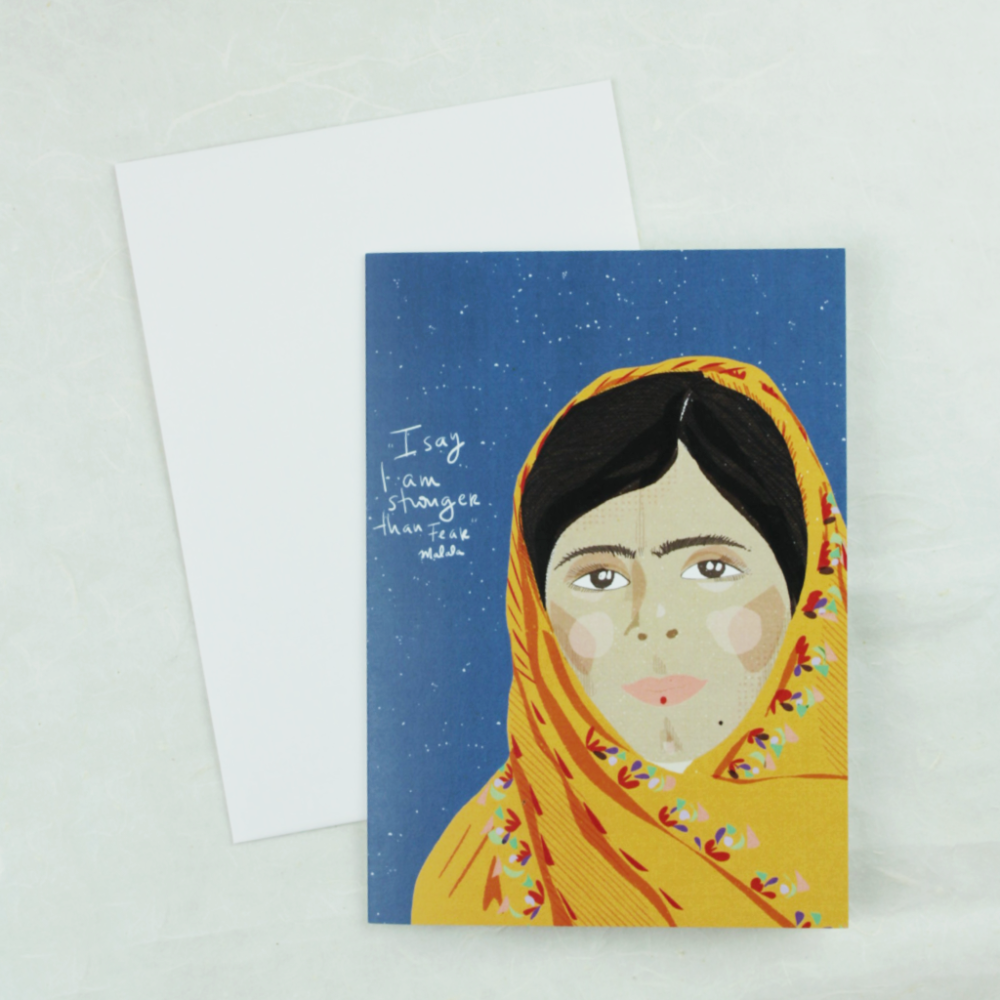 Illustration Card | Malala - Coco and Duckie
