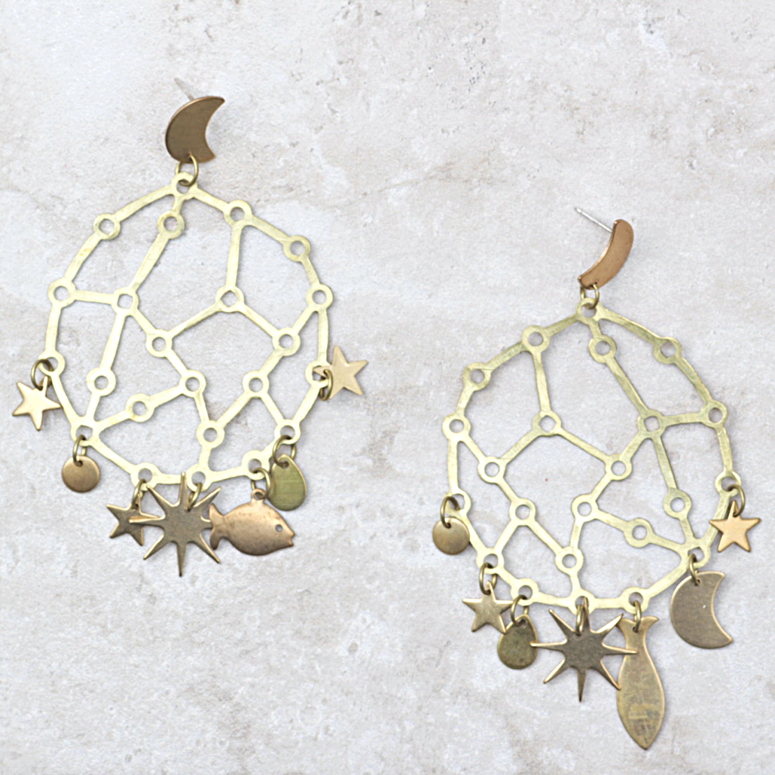 Andromeda Earrings - Coco and Duckie