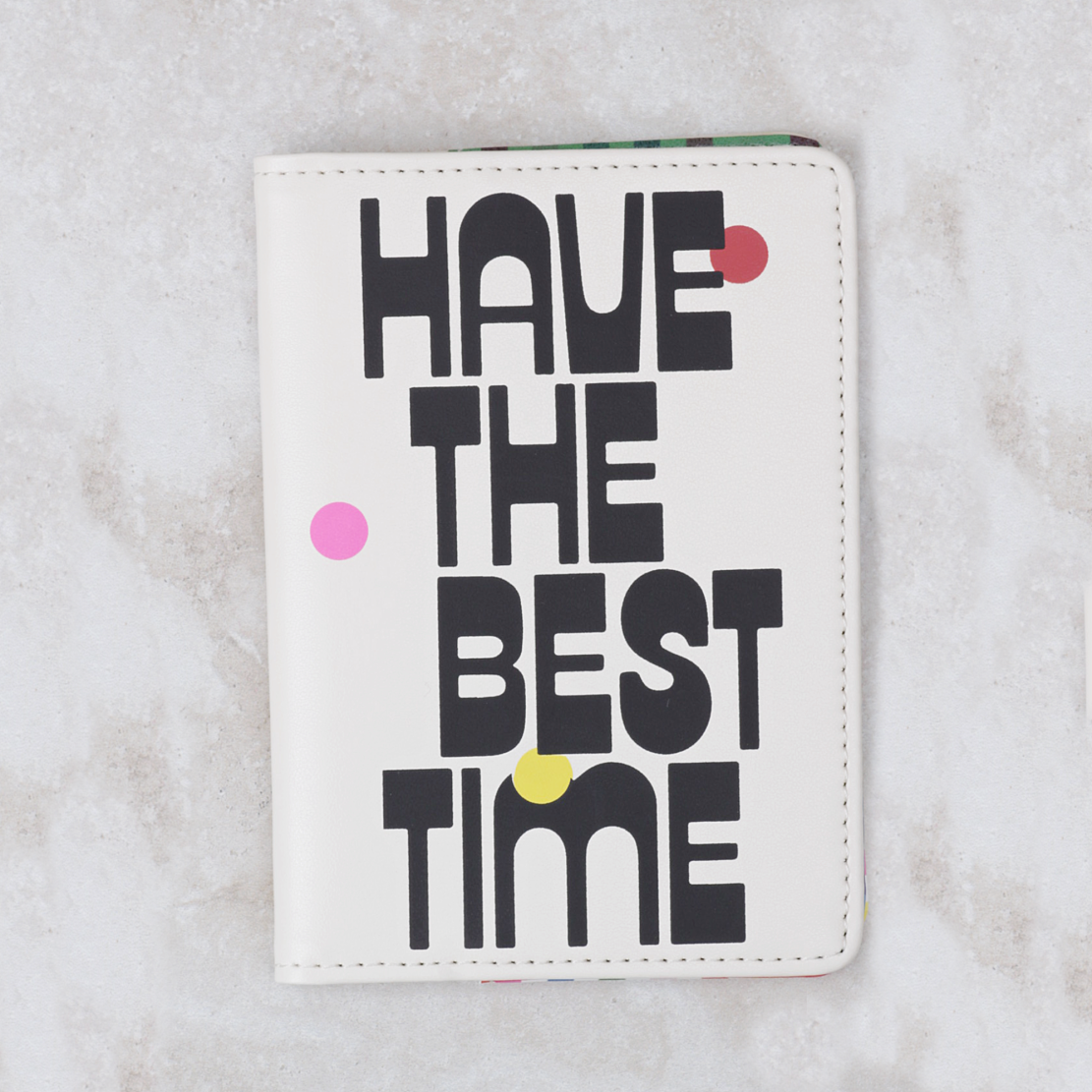 Passport Holder | Have The Best Time - Coco and Duckie