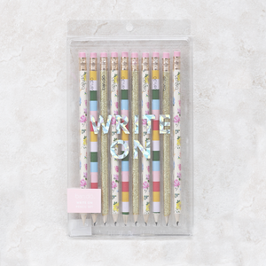 Write On Pencil Set | Coming Up Roses