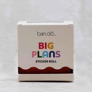 Big Plans Sticker Roll