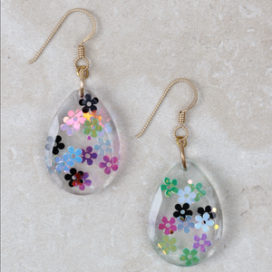 Georgia Earrings | Flower Power