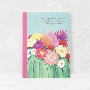 Cactus Flower Notebook - Compendium - Coco and Duckie