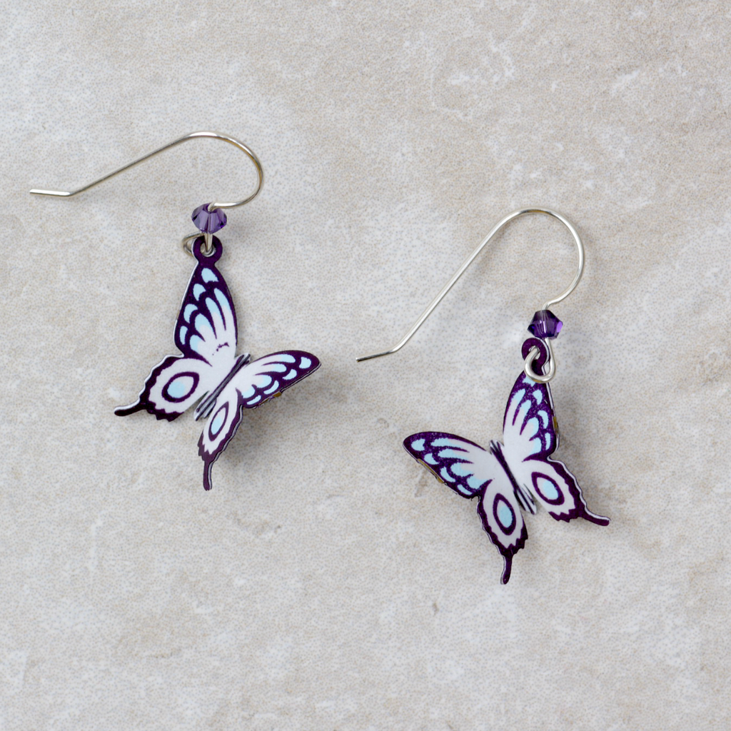 Sunrise Butterfly Earrings - Coco and Duckie