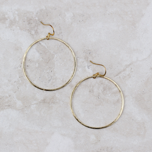 Classic Modern Hoops | Gold