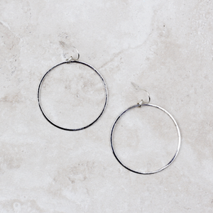 Classic Modern Hoops | Silver