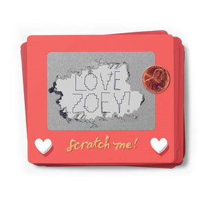Scratch-a-Sketch Valentines | Box of 18