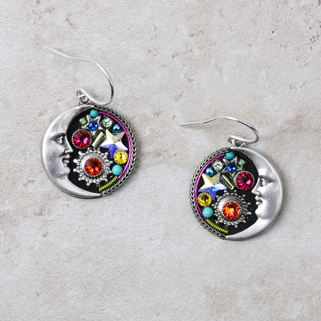 Luna Earrings | Multicolored - Coco and Duckie