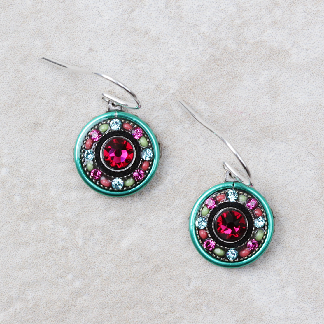 Filipa  | Multicolored Earrings by Firefly - Coco and Duckie