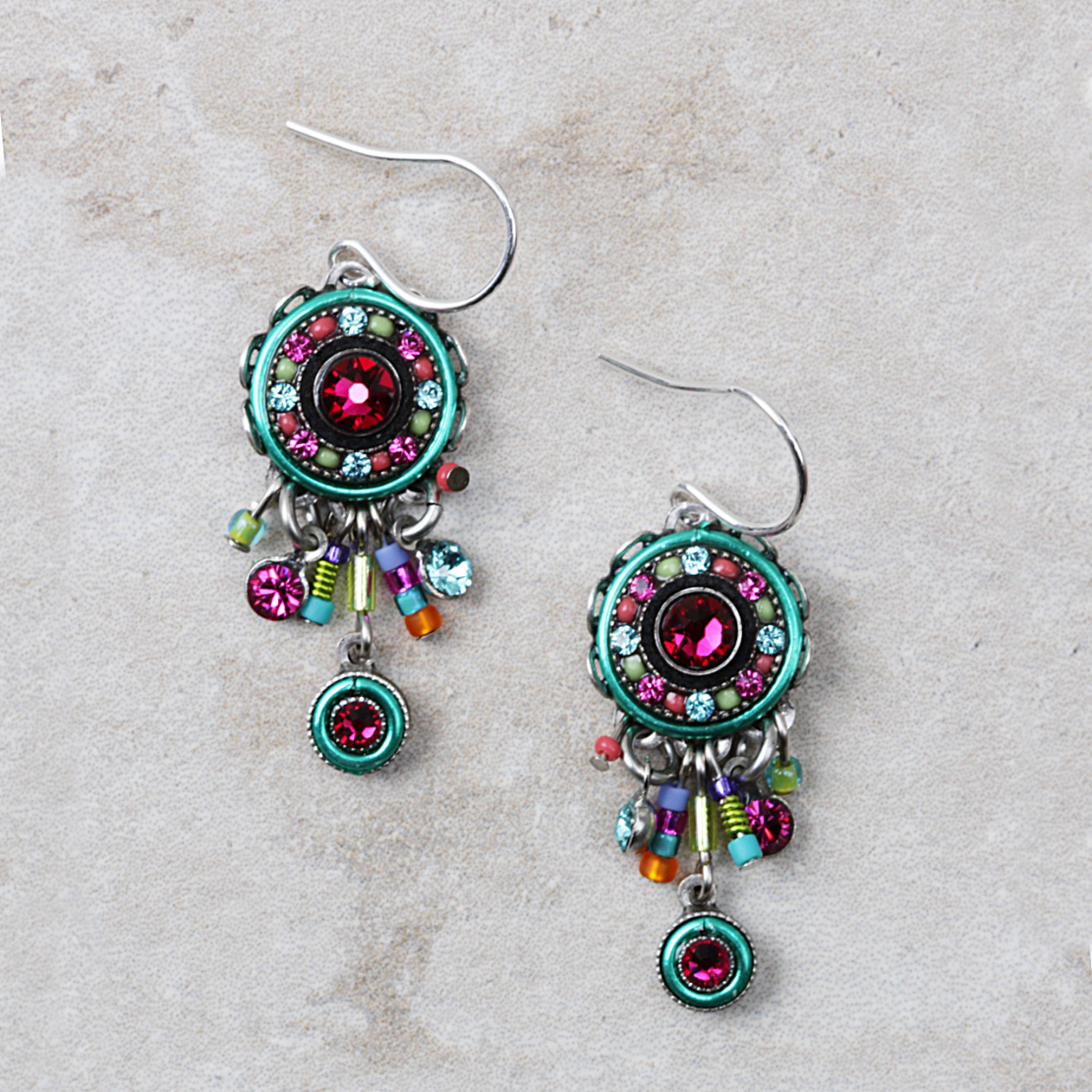 Annette Earrings | Multicolored - Coco and Duckie