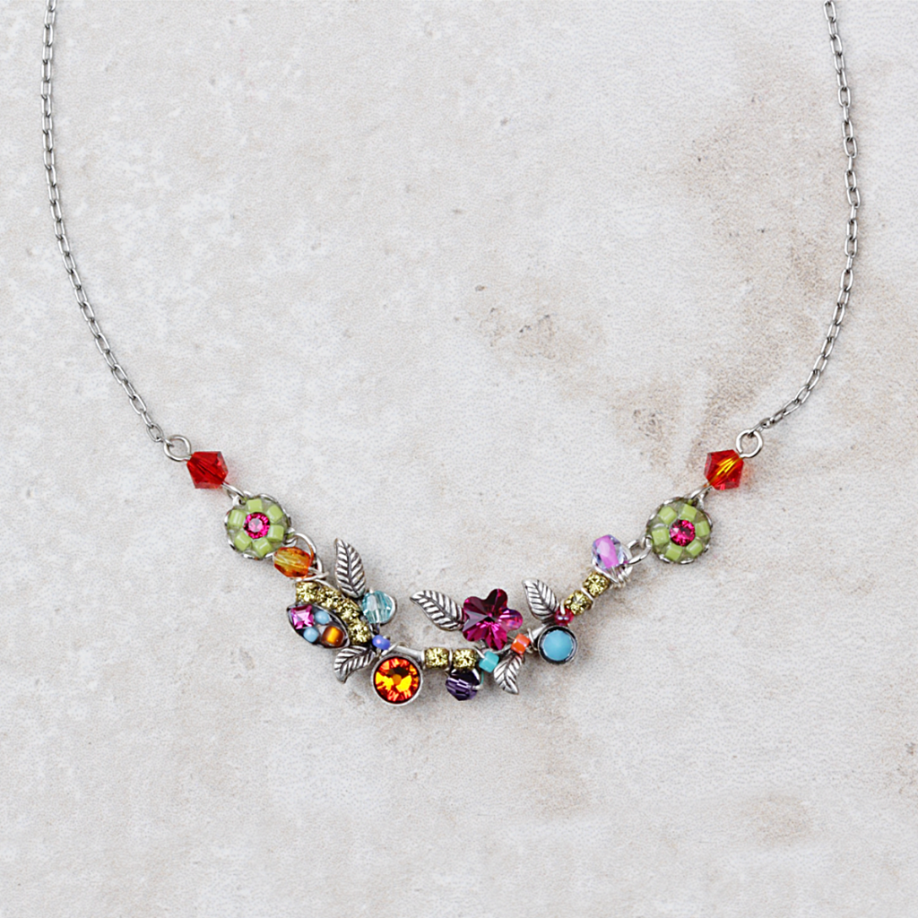 Vinnie Necklace | Multicolored - Coco and Duckie