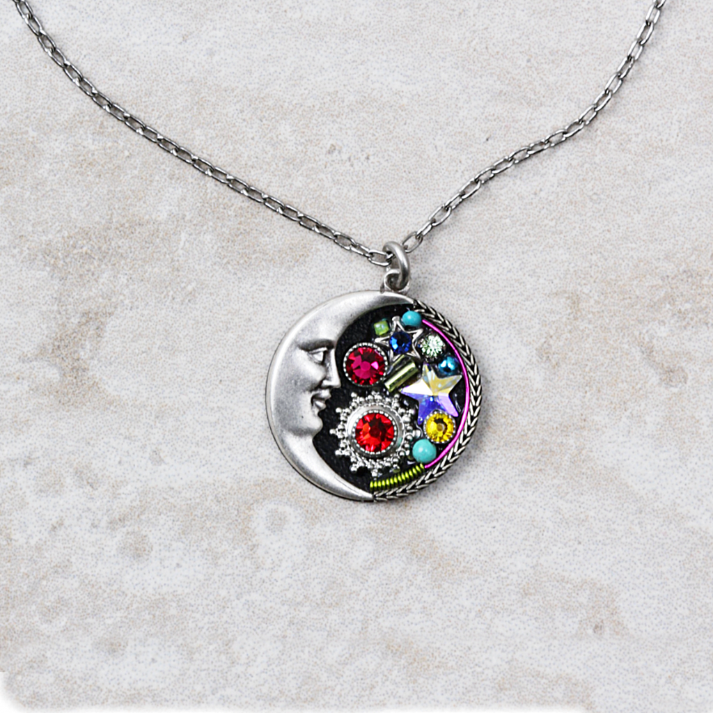 Luna Necklace | Multicolored - Coco and Duckie