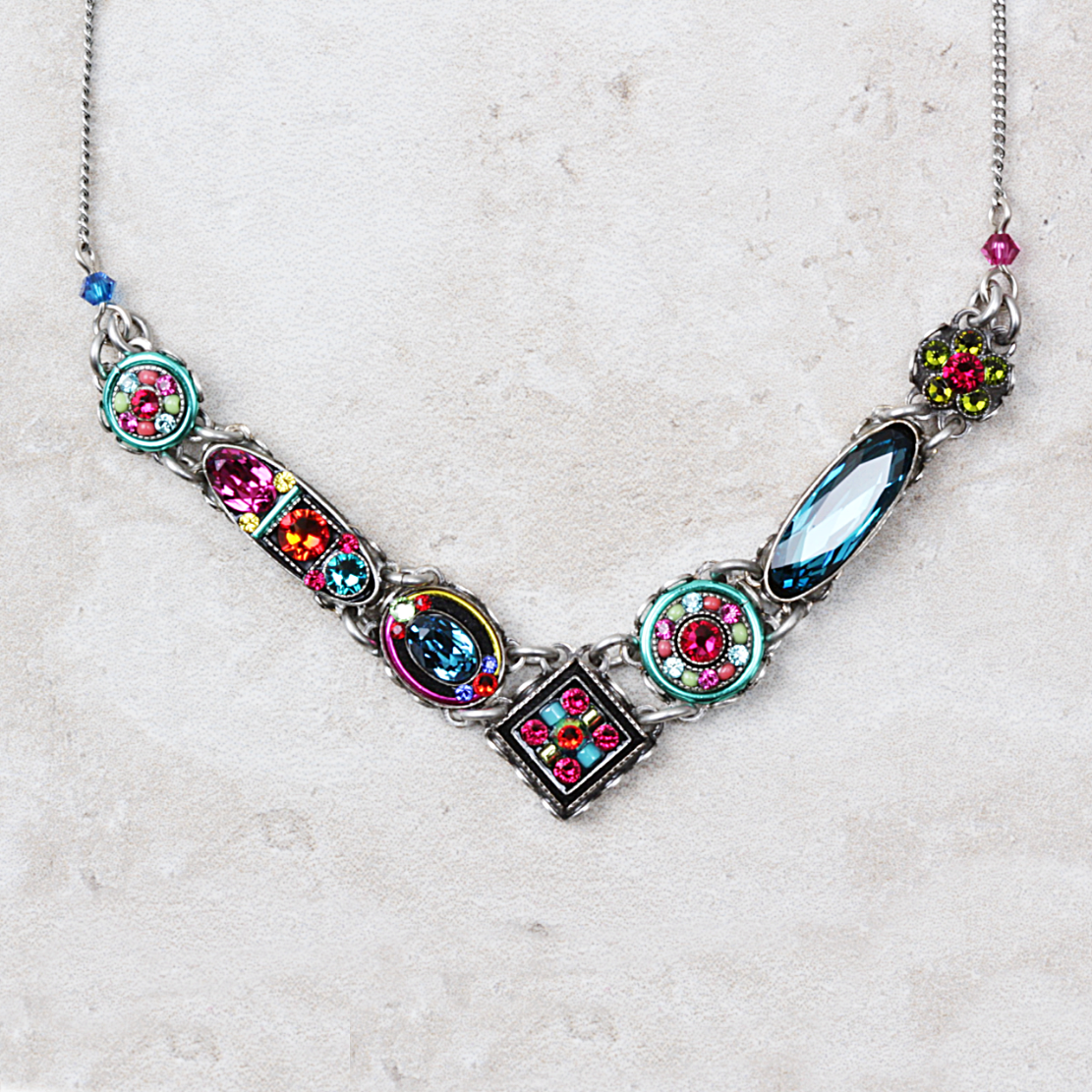 Marsa Necklace | Multicolored