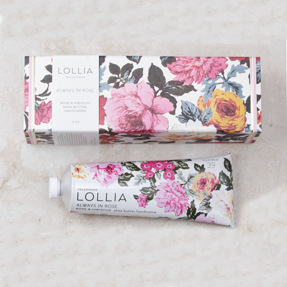 Always In Rose Hand Cream Lollia Margot Elena Coco and Duckie