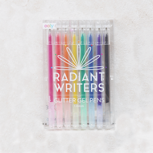 Radiant Writers Glitter Gel Pens - Coco and Duckie