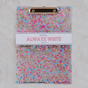 Confetti Clipboard - Coco and Duckie