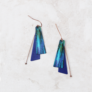Pietra Earrings | Navy - Coco and Duckie