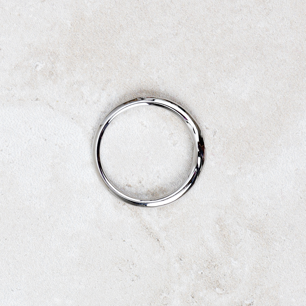 Qudo Interchangeable Fine Ring | Silver - Coco and Duckie