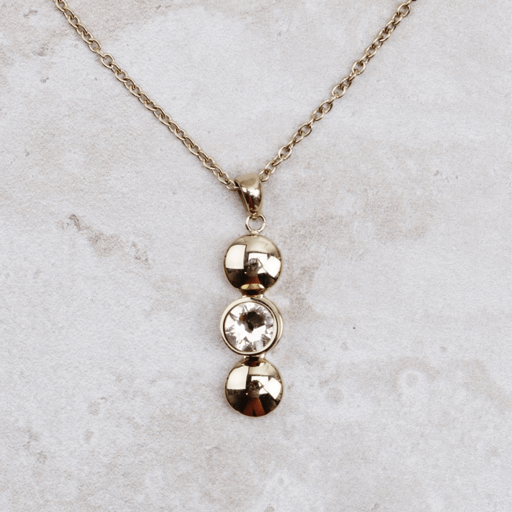 Interchangeable Necklace | Verticale Triple - Qudo - Coco and Duckie