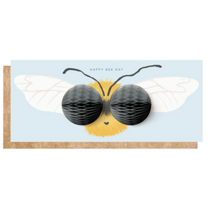 Pop-Up Card | Bee Day - Coco and Duckie