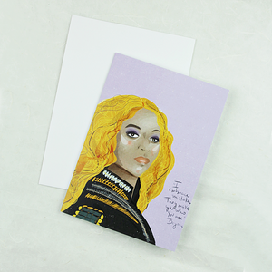 Illustration Card | Beyoncé - Coco and Duckie