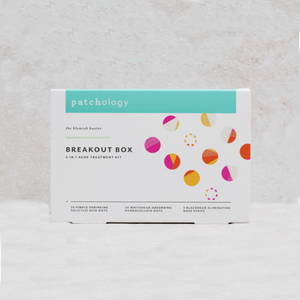 3 in 1 Acne Treatment Kit | Patchology Break-Out-Box - Coco and Duckie