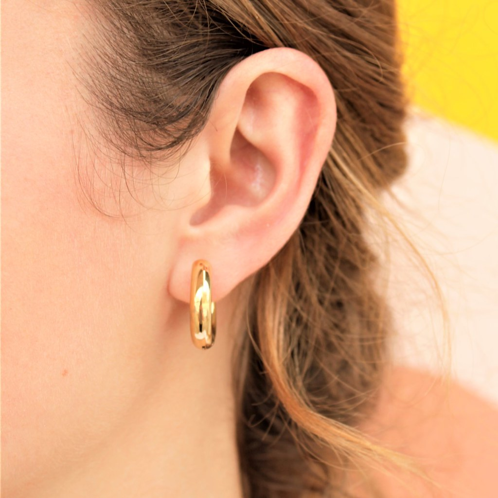 Conda Earrings | Gold - Coco and Duckie