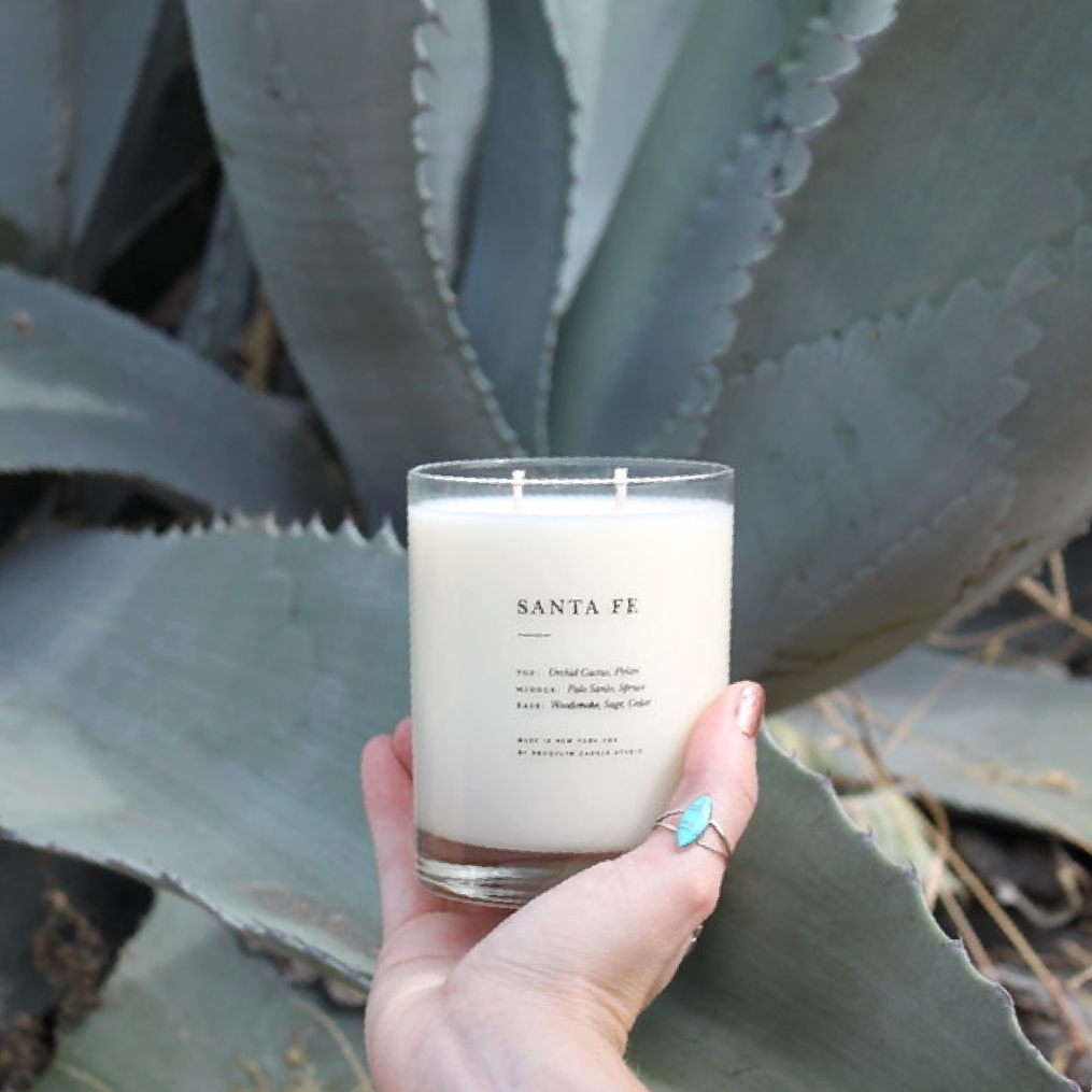 Santa Fe Candle - Brooklyn Candle Studio - Coco and Duckie