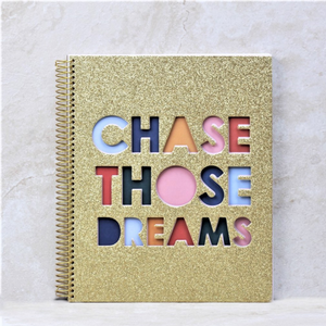 Chase Those Dreams Notebook - Packed Party - Coco and Duckie