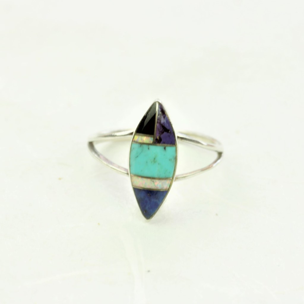 Cheyenne Turquoise Ring - Zuni - Coco and Duckie