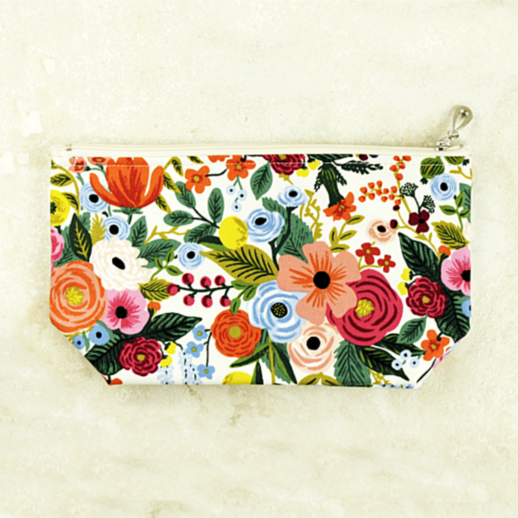 Floral Cosmetic Bags - Coco and Duckie