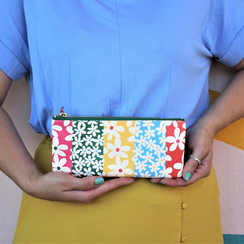 Daisies Pencil Pouch - Bando - Coco and Duckie