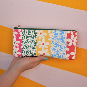 Get It Together Pencil Pouch | Daisies - Coco and Duckie